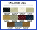 Picture of Single Hole Perforated Yardage